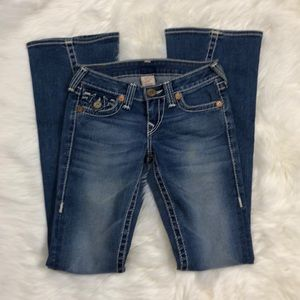 True Religion Joey Big T Flare Jeans